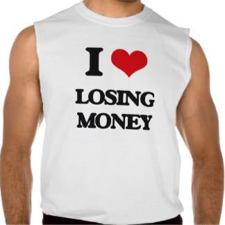 love losing money in investing