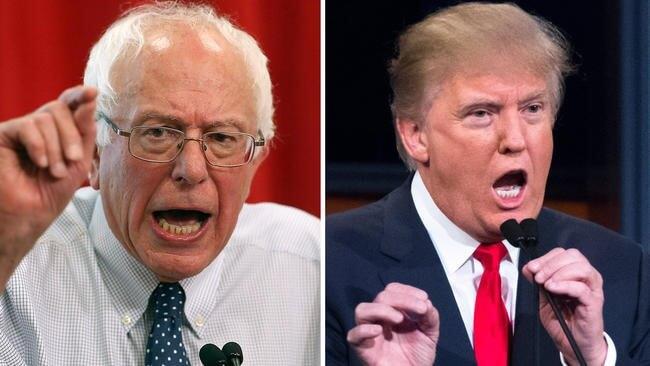 Trump and Bernie