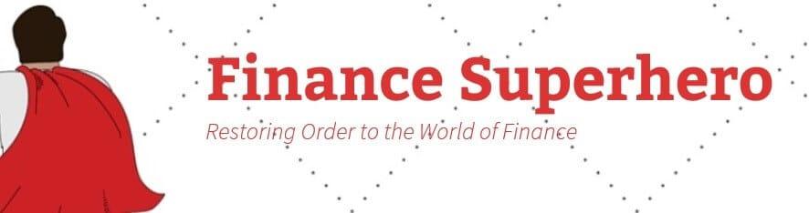 finance superhero